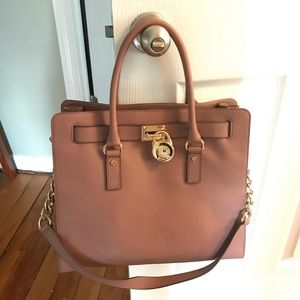 Michael Kors Dusty Rose Hamilton Bag